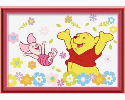 MC001 Картинки раскраски для детей Винни Пух и Пятачок Menglei (Китай)
