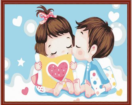MC007 Картинки раскраски для детей Первая любовь Menglei (Китай)