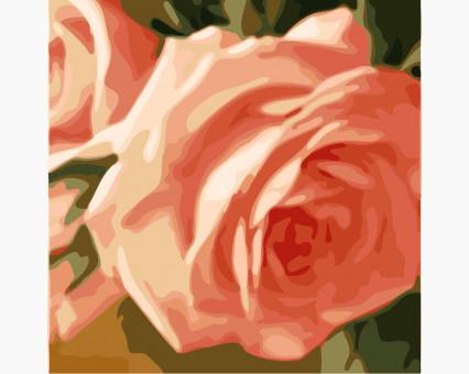 MS14048 картины по номерам Триптих. Нежные розы (вертикальная) DIY Babylon фото набора