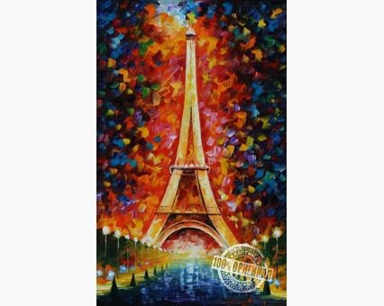 MS328 картина по номерам Эйфелева башня DIY Babylon фото набора