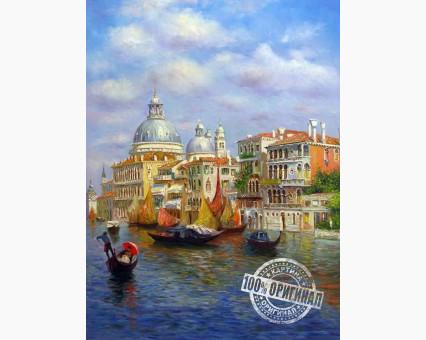 MS411 картина по номерам Лазурь Венеции DIY Babylon фото набора