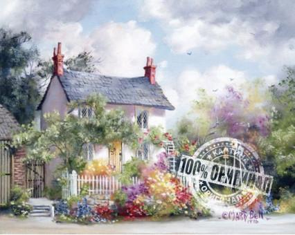 MS615 картина по номерам Сказочный домик DIY Babylon
