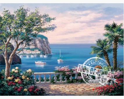 VP013 картина по номерам Коста-дель-Соль DIY Babylon фото набора
