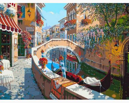VP024 картина по номерам Сан-Марко DIY Babylon