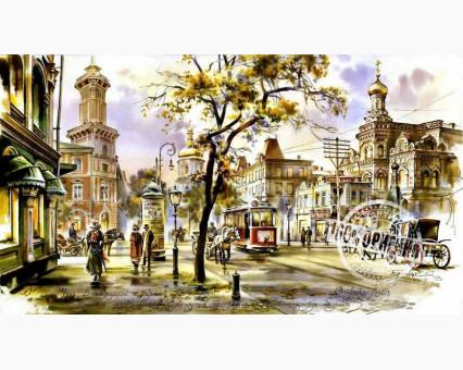 VP026 картина по номерам Перекресток в Киеве DIY Babylon фото набора