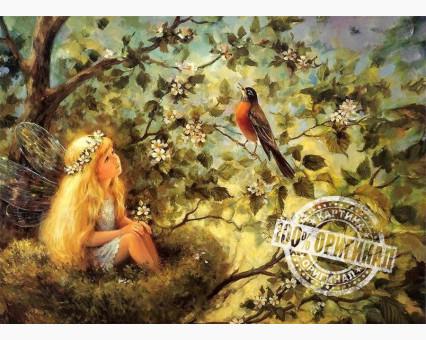VP030 картина по номерам Маленькая фея DIY Babylon фото набора