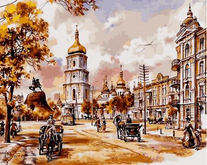 VP048new картина по номерам София Киевская DIY Babylon