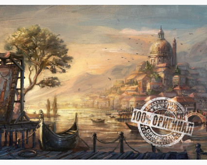 VP051 картина по номерам Вечерняя Венеция DIY Babylon фото набора