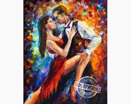 VP083 картина по номерам Танго в Париже DIY Babylon фото набора