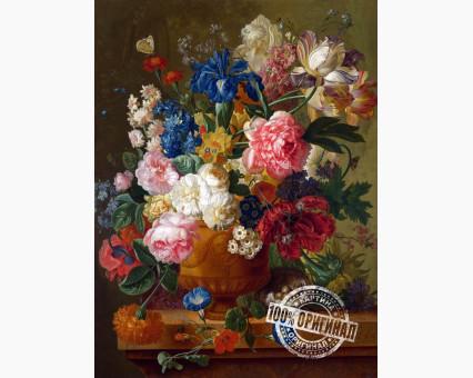 VP092 картина по номерам Натюрморт с цветами DIY Babylon