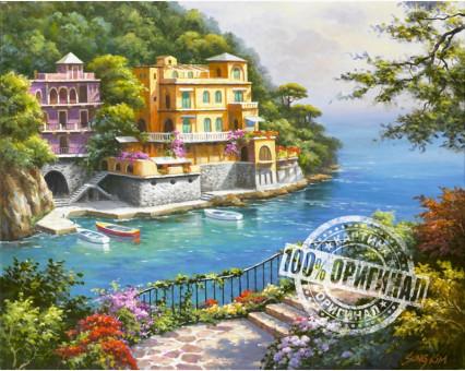VP212 картина по номерам Нарисованный рай DIY Babylon фото набора