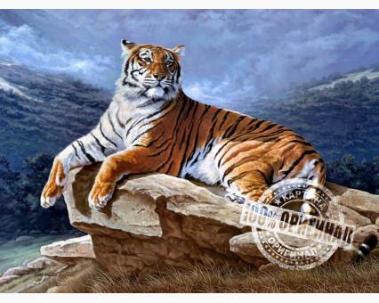 VP239 картина по номерам Тигр на рассвете DIY Babylon фото набора