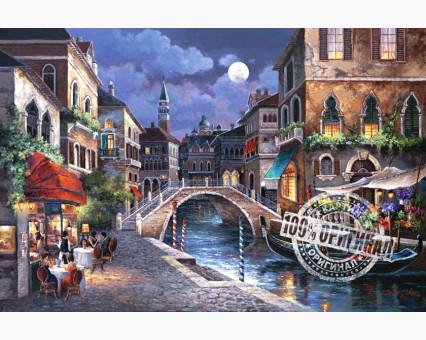 VP241 картина по номерам Венецианская ночь DIY Babylon
