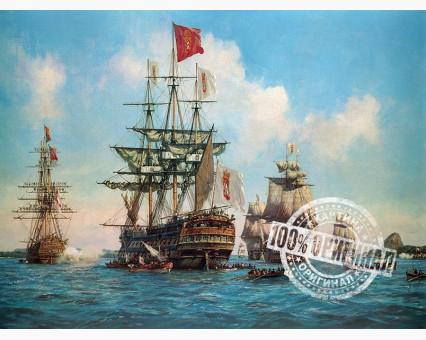 VP258 картина по номерам Королевские парусники DIY Babylon фото набора