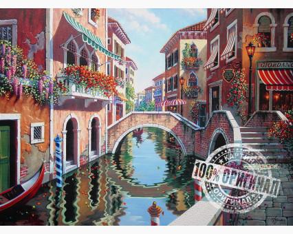 VP264 картина по номерам Полдень в Венеции DIY Babylon фото набора