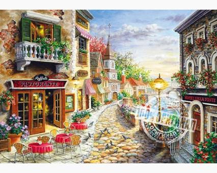 VP300 картина по номерам Приморский бульвар DIY Babylon фото набора