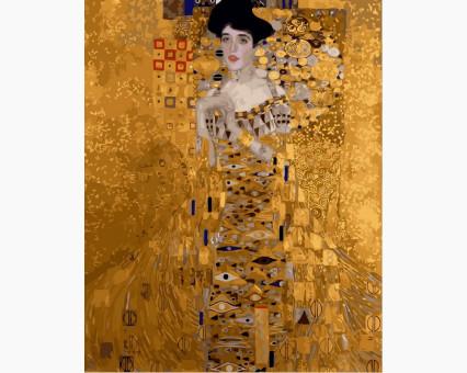 VP308 картина по номерам Золотая Адель DIY Babylon