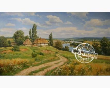 VP350 картина по номерам Украинский пейзаж 2 DIY Babylon фото набора