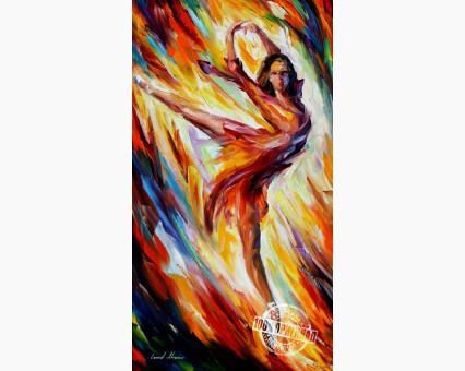 VP366 картина по номерам Страсть и огонь DIY Babylon фото набора