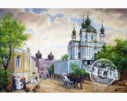 VP370 картина по номерам Андреевский спуск DIY Babylon фото набора