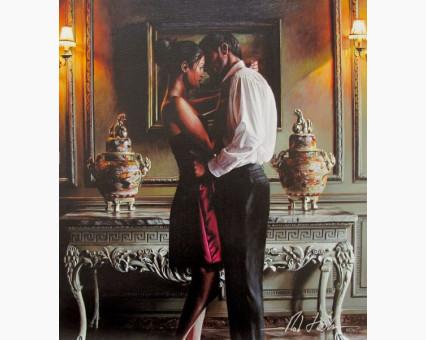 VP374 картина по номерам Романтический вечер DIY Babylon фото набора