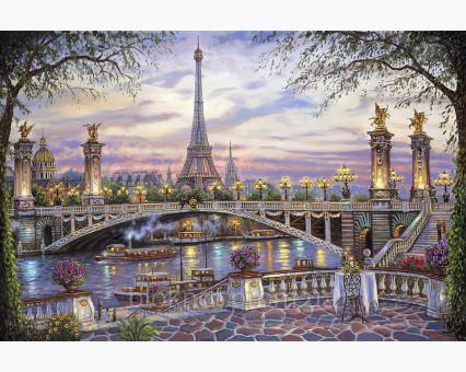 VP397 картина по номерам Воспоминания о Париже DIY Babylon фото набора