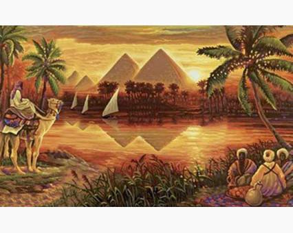 VP420 картина по номерам Пирамиды DIY Babylon фото набора