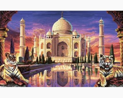 VP425 картина по номерам Тадж Махал DIY Babylon фото набора