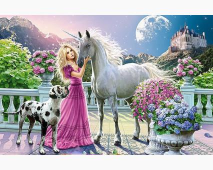 VP436 картина по номерам Девьчьи мечты DIY Babylon фото набора