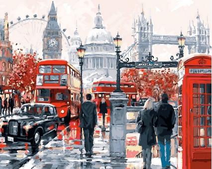 VP441 картина по номерам Очарование лондона DIY Babylon