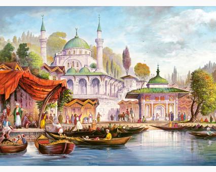 VP486 картина по номерам Стамбул. Мечеть  Ускюдар DIY Babylon фото набора