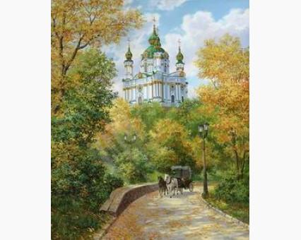 VP491 картина по номерам Осенняя рапсодия DIY Babylon фото набора