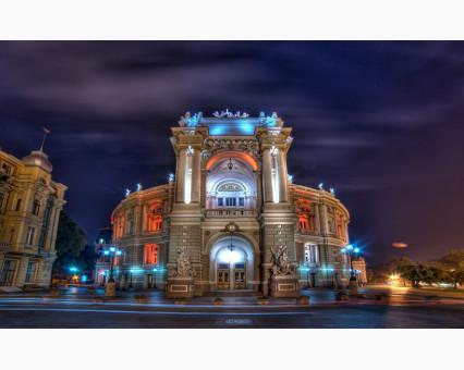 VP494 картина по номерам Оперный театр.Одесса DIY Babylon фото набора