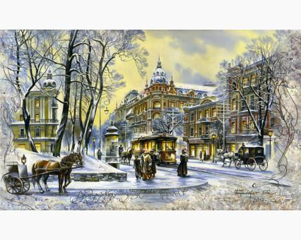 VP498 картина по номерам Владимирская. Зима DIY Babylon фото набора