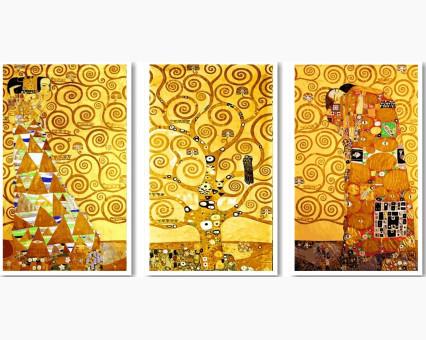 VPT005 картина по номерам Ожидание - Древо жизни - Свершение DIY Babylon