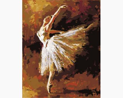 MR-Q1451 картина по номерам Искусство танца Mariposa