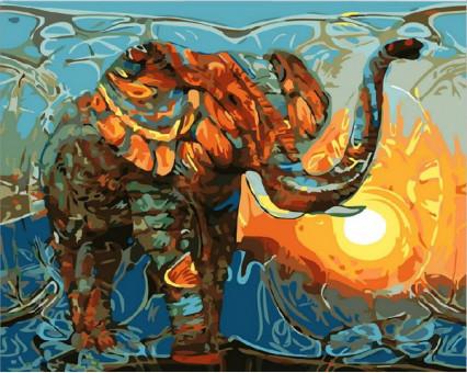 MR-Q1876 картина по номерам Индийские мотивы Mariposa