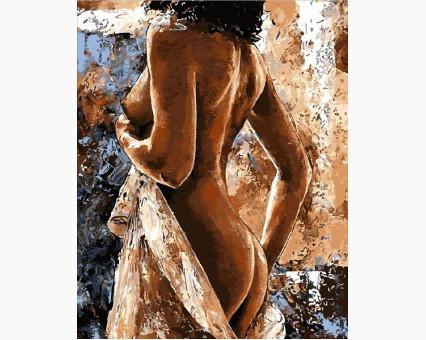 MR-Q2079 картина по номерам Женственность Mariposa