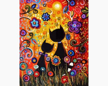 VP624 картина по номерам Магические краски DIY Babylon