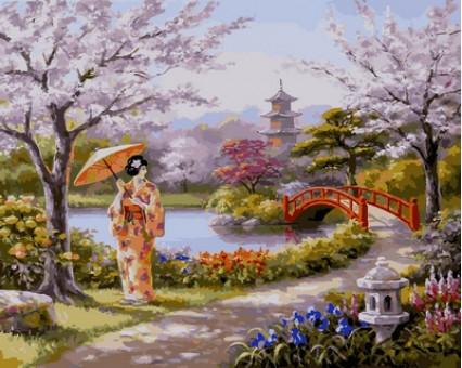VP664 Картина раскраска Нарисованный райТурбо