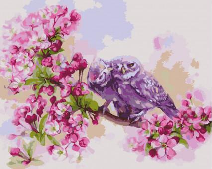 KHO2487 Картина раскраска Единение сердец Идейка