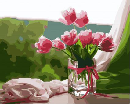 KHO2913 картина по номерам Идеальное утро Идейка