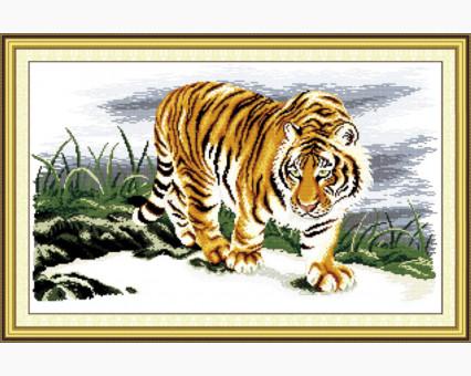ide_D037 набор для вышивания Набор для вышивки Идейка Гордый тигр (D037) Идейка