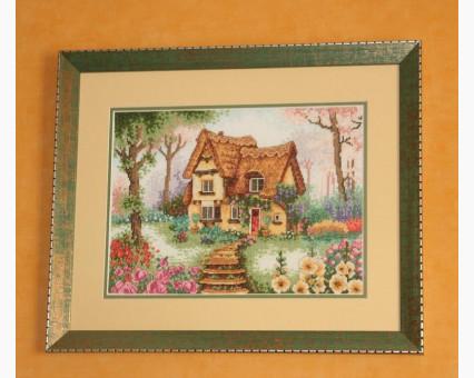 ide_F023 набор для вышивания Вышивание крестиком Идейка Маленький домик (F023) Идейка фото набора