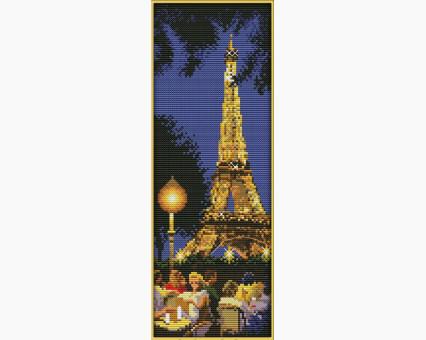 ide_F214 набор для вышивания Набор для вышивания Идейка Ночной Париж (F214) Идейка