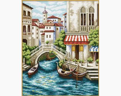 ide_F239 набор для вышивания Набор для вышивки Идейка Венеция (F239) Идейка