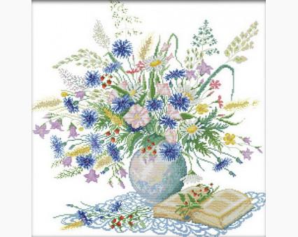 ide_H303 набор для вышивания Набор для вышивания Идейка Романтичный букет (H303) Идейка