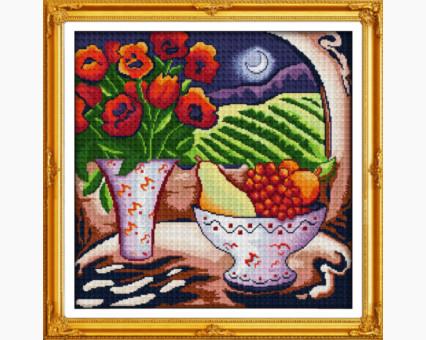 ide_J049 набор для вышивания Вышивка крестиком Идейка Ночной натюрморт (J049) Идейка