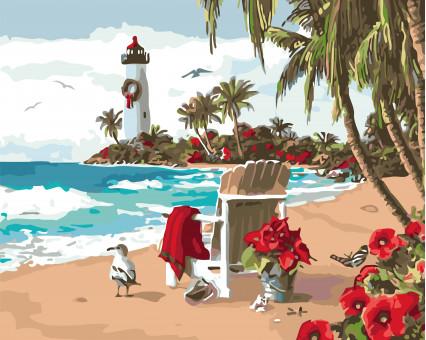 KHO2825 Картина раскраска Испанский заливИдейка