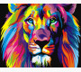 BK-GX8999 Картина раскраска Радужный лев